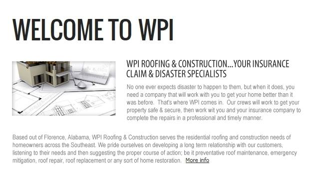 Welcome to WPI Roofing u0026 Construction.  sc 1 th 171 & Welcome to WPI Roofing u0026 Construction memphite.com